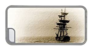 Hipster discount for ipod Touch 4 cases Sailboat Art TPU Transparent for Apple for ipod Touch 4