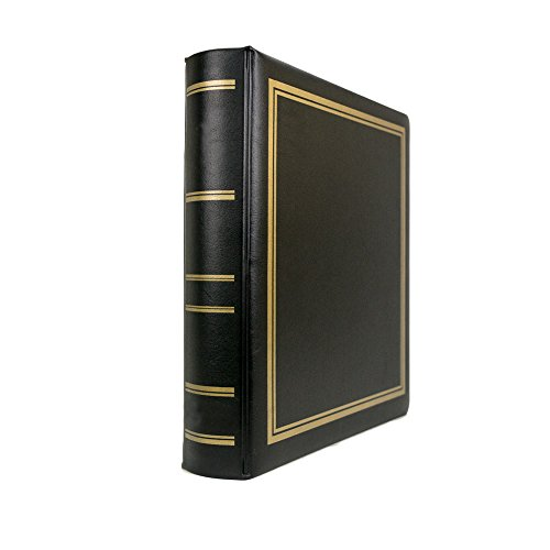 Blumberg Portfolio 3-Ring Binder Photo Albums (Plain-No Lettering, Black Plush (3 Ring Binder Vinyl Cd)