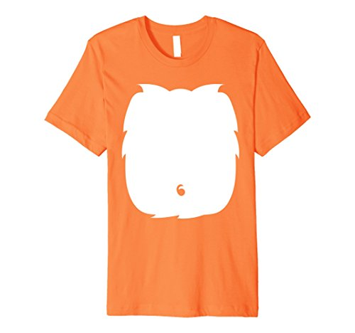 Good Last Minute Halloween Costumes For Adults (Mens Foxes Lion Tiger Halloween Costume Shirt Cute Kid Adult Gift Large Orange)