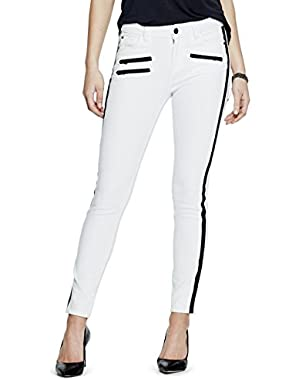 GUESS Max Moto Skinny Jeans