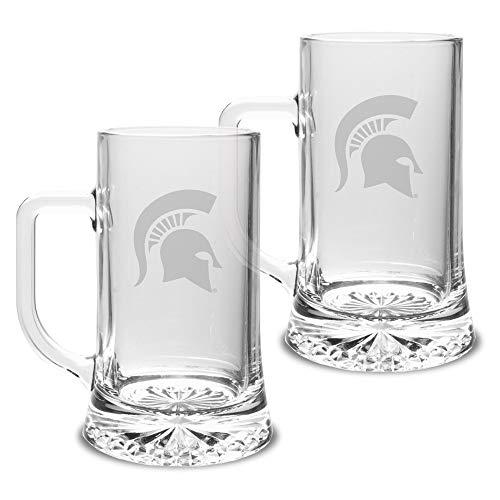 Spartans Maxim Mug - Set of 2, Clear, 17.5 oz ()