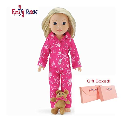 """Emily Rose 14 Inch Doll Clothes for Glitter Girls and American Girl Dolls 