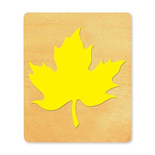 Die Cut Leaves - Ellison SureCut Die, Maple Leaf #2, Large