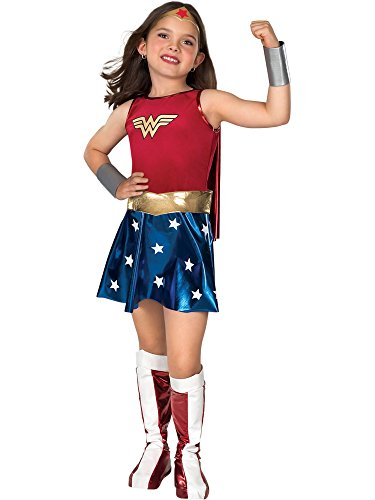 Super DC Heroes Wonder Woman Child's Costume ()