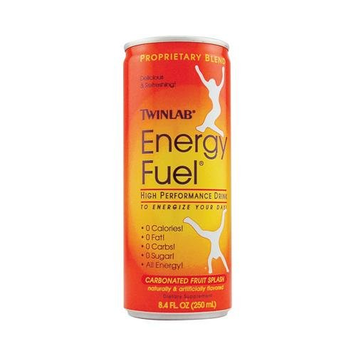 Twinlab Energy Fuel Fruit Splash - 8.4 Fl Oz - Case Of 24