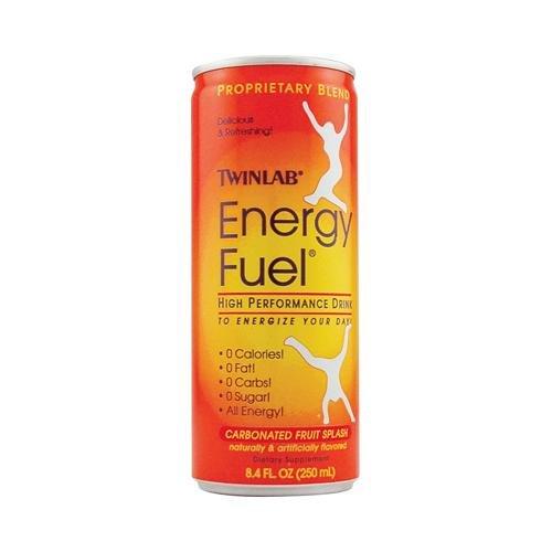 Twinlab Energy Fuel Fruit Splash - 8.4 Fl Oz - Case Of 24