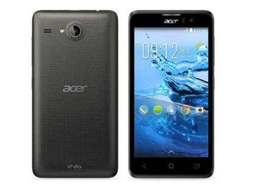 Acer Liquid Z520 8GB Dual SIM - Factory Unlocked Phone - Retail Packaging (Black)