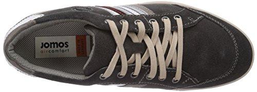 Jomos Ariva - zapato oxford de cuero hombre gris - Grau (blei/platin)