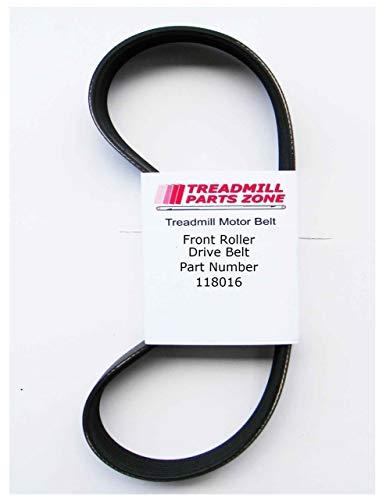 TreadmillPartsZone Replacement for Pro Form 835QT Treadmill Model 299483 Motor Belt Part 118016