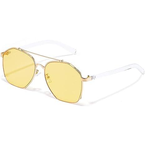 rivenditore all'ingrosso b3bc8 145ed Z&HA Occhiali da Sole A Colori Chiari per Donne Occhiali da ...
