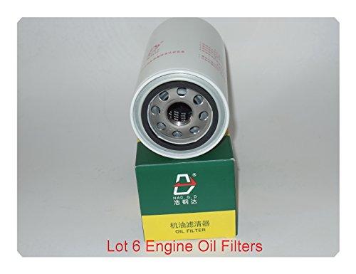 ( Lot of 6 )Engine Oil Filte Fits FORD V8 6.7L DIESEL F-250 SUPER DUTY 2011-2017 F-350 SUPER DUTY 2011-2017 F-450 2015-2016 F-450 SUPER DUTY 2011-2016