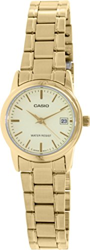 Casio Womens LTPV002G 9A Stainless Steel Quartz