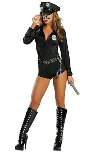 Sexy Police Romper Halloween Costume (Hot Cop Costumes)