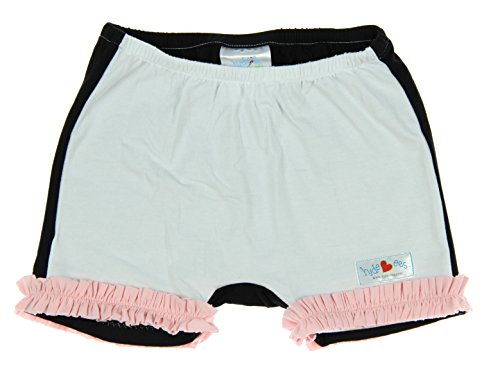 Hide-ees Better Than Bloomers Little Girls Under Dress Shorts With Ruffle (4-6X, Neapolitan)