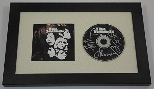 - The Sounds Living in America Authentic Group Signed Autographed Music Cd Compact Disc Framed Display Loa