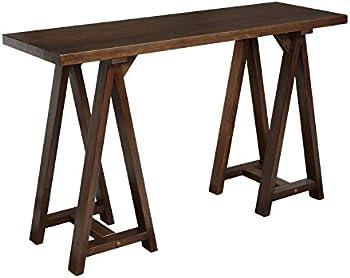 Simpli Home Sawhorse Console Sofa Table