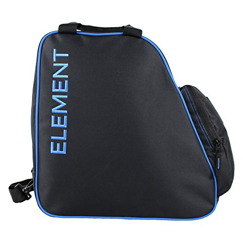 Element Equipment Boot Bag Snowboard Ski Boot Bag Pack Black (Blue Mens Snowboard Boots)