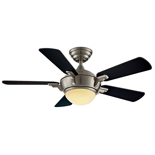 Hampton Bay 44 In. Midili Fan – Brushed Nickel 68044