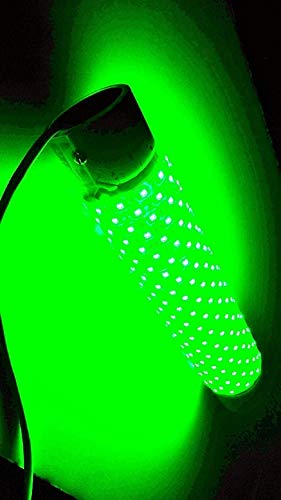 Green Jumbo BLOB 30000 Lumen 600 LED Underwater Fishing Light 110 Volt AC with 3 Prong Plug Includes Electronic Timer Night Fishing Light LED Fish Finding with 30ft Power Cord Fish Light Fish Lure