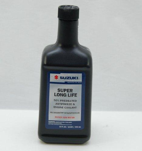 Suzuki Long Life Engine Coolant 32 Ounce Bottle 990A0-02000