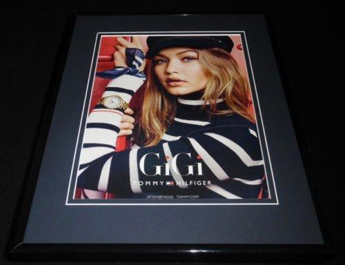 gigi-hadid-2016-tommy-hilfiger-framed-11x14-original-advertisement