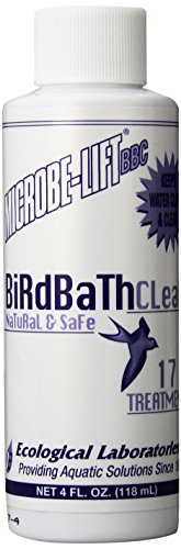 C4-24D, Microbe Lift Bird Bath Cleaner, 4-Ounce ()