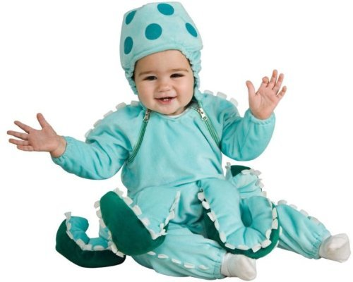 Rubie's Costume Co Octopus Child Costume Size 2-4 Toddler -