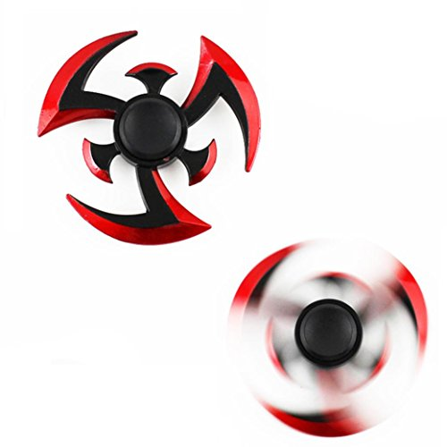 Hand Spinner,CreazyTri Hand Spinner Finger Fidget Hybird Bearing Gyro Kids Adult Focus Desk Toy