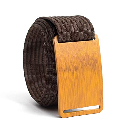 Men's Web Belt GRIP6 Craftsman (38in Bamboo w/Mocha Strap)