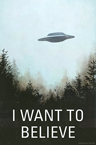 I Want To Believe Poster Print