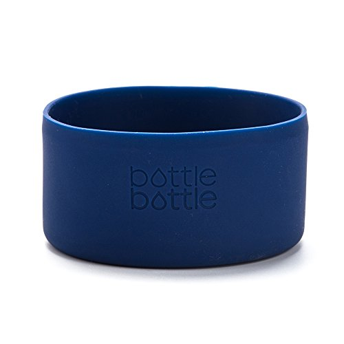 bottlebottle Protective Silicone Sleeve for Hydro Flask 64oz Growler, Portable Travel Pet Bowl for Dog Cat Food Water Feeding, BPA Free Anti-Slip Bottom Cover, Dishwasher ()