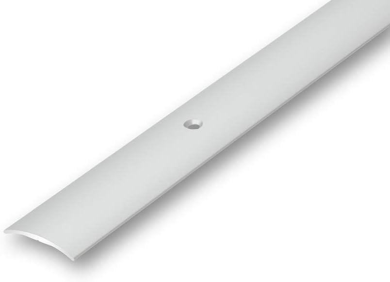 /Übergangsprofil 30 mm gew/ölbt gebohrt in 6 Eloxalfarben T/ürprofil Schweller Ausgleichsprofil 1000 mm gebohrt, bronze