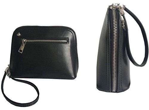 phone bag Bag Shoulder nbsp;Leather Bag Crossbody Strap Wristlet Bag Black cell wHz81U