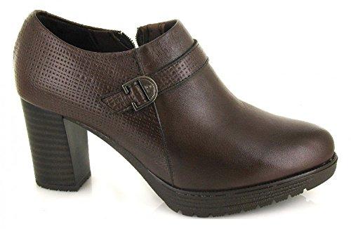 PITILLOS 1283, Zapato marron oscuro de Mujer