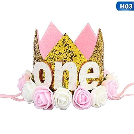 Amazon.com: Gorro de fiesta de cumpleaños para niña y niño ...