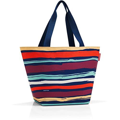 51 Navy Shopper Reisenthel spots Liters Artist Bleu À Cm Sac Cordon 15 Stripes vgUqIT