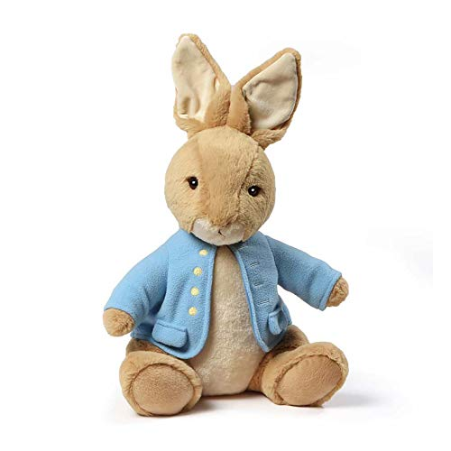 GUND Classic Beatrix Potter Peter Rabbit Stuffed Animal Plush, 13