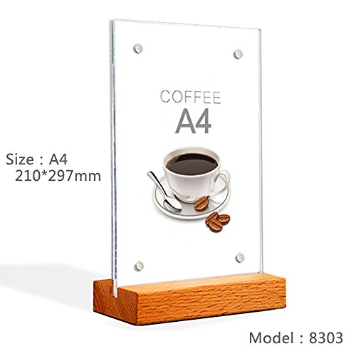 Exhibition Stand In Kuwait : Inches acrylic magnetic desktop display rack sign holder