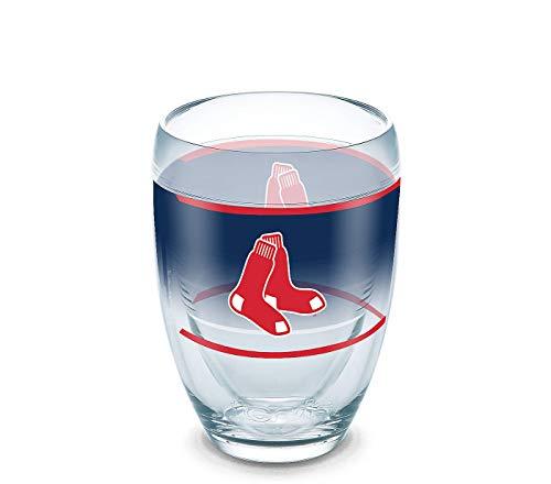 Tervis 9oz Stemless Wine Glass: MLB Boston Red Sox Original ()