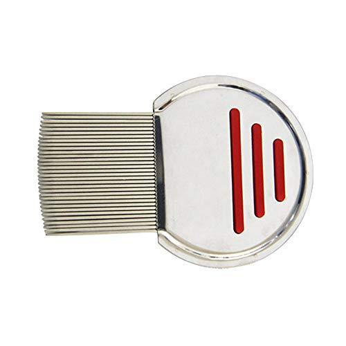 MKQLT 2pcs exclusive terminator comb hair stainless steel metal teeth