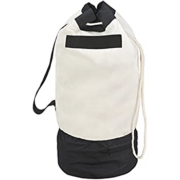 c01e4748a5 Amazon.com  Household Essentials Backpack Duffel Laundry Bag