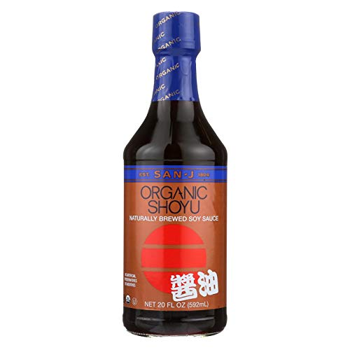 San J Organic Traditional Shoyu Soybean, 20 Ounce -- 6 per case.