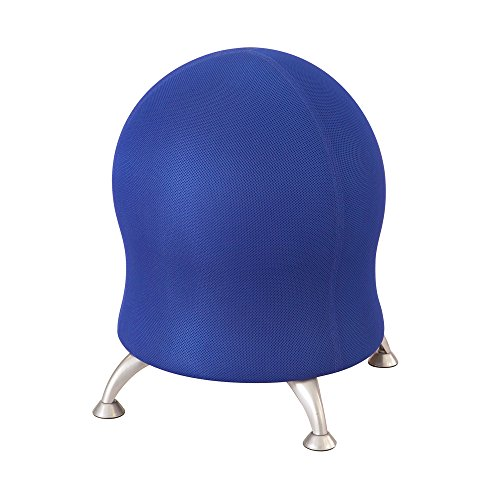 Safco Products 4750BU Polyester Mesh Zenergy Ball Chair, Blue