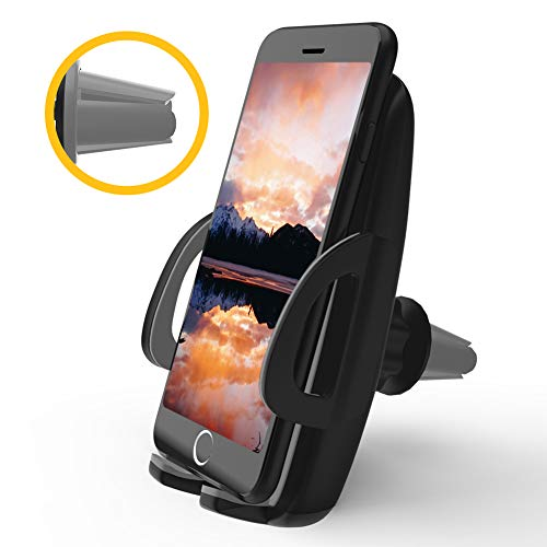 Phone Holder,Huangri Universal Smartphone Car Air Vent Mount Holder Cradle for iPhone Xs XS Max X 8 8 Plus 7 7 Plus SE 6s 6 Plus 6 5s 5 4s 4 and Other Smartphone