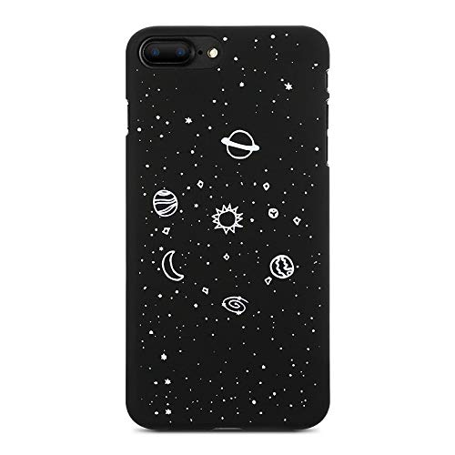 Buildent Universe Planet - Carcasa Mate para iPhone 5S SE X XS MAX XR para iPhone 6, 6S, 7, 8 Plus, diseño de capinhas...