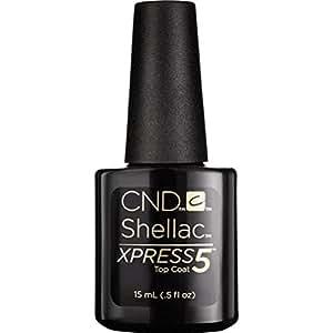 CND Shellac Xpress5 Top Coat, 0.5 fl. oz.