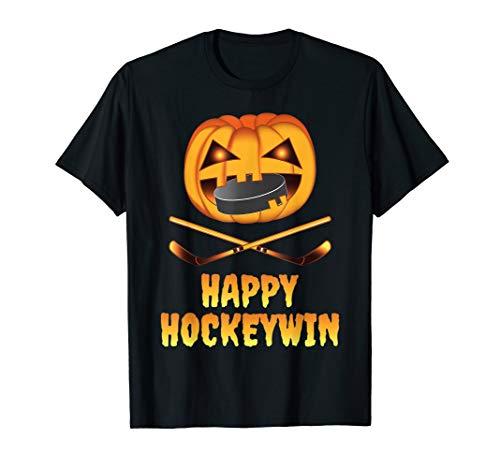 Halloween Pumpkin Hockey Player (Happy Hockeywin Halloween Hockey Player Costume Pumpkin)