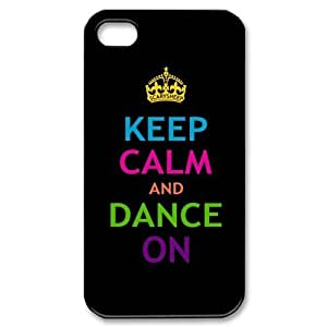 iphone covers Vazza Protective Iphone 6 4.7 Hard Case - Keep Calm and Dance On iPhone Black Case