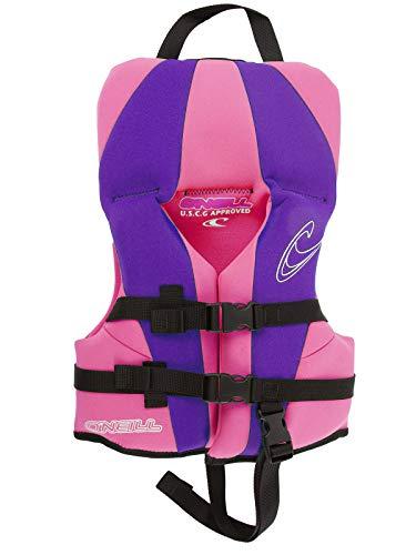 O'Neill Infant USCG Neoprene Life Vest (up to 30 lbs) Petunia/UV/Petunia