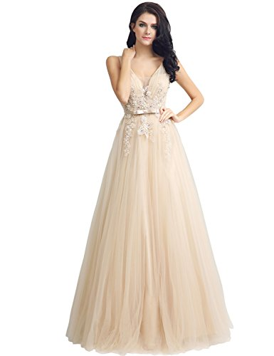 Dresses Long Lx242 Prom Women Dresses House Gown Bridesmaid Belle Formal for Beaded Ball champagne wXEqpa47